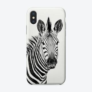 Zebra Portrait Phone Case