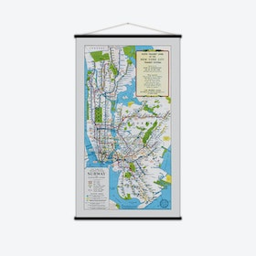 New York City Vintage Map