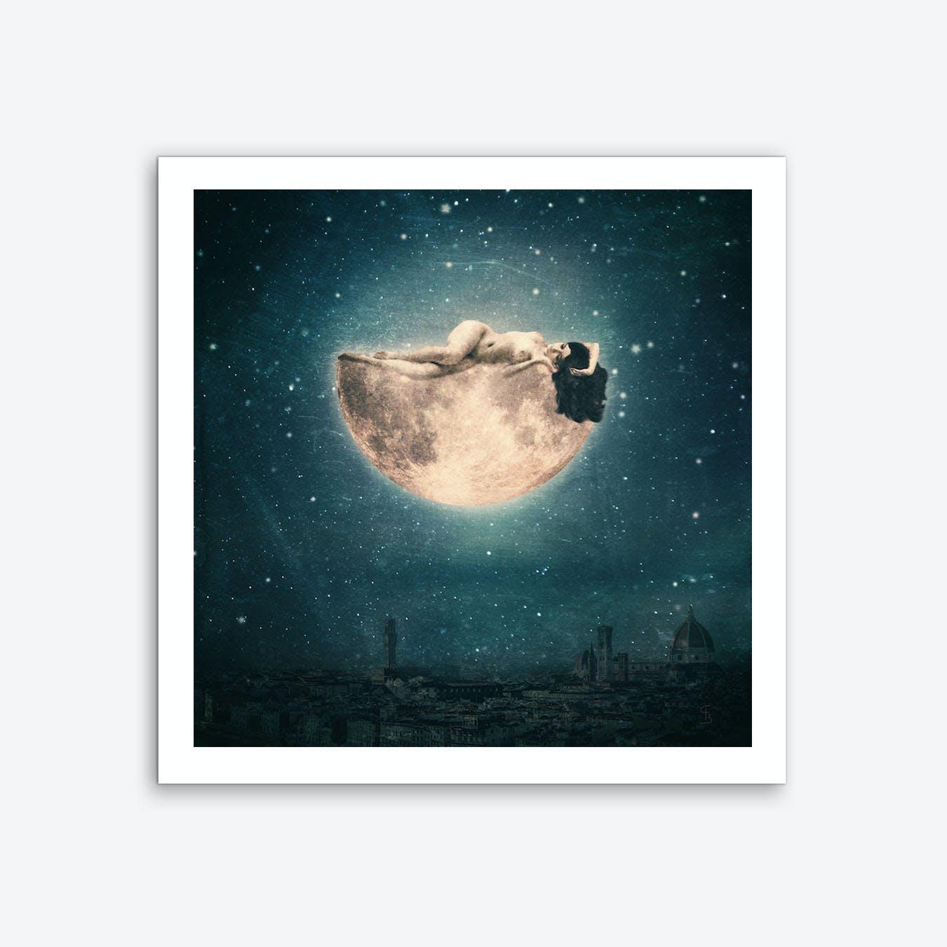 Moon Reverie Art Print
