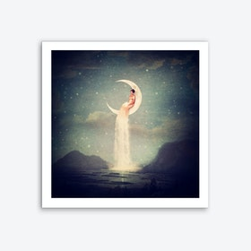 Moon River Art Print