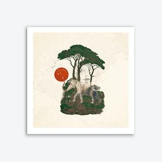 Savannah Sunrise Art Print
