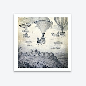 Carrilloons over the City Art Print