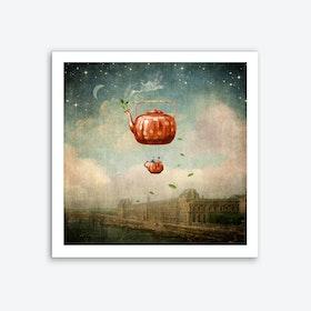 Love and Tea Art Print