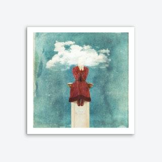 Love - Head in the Clouds Art Print