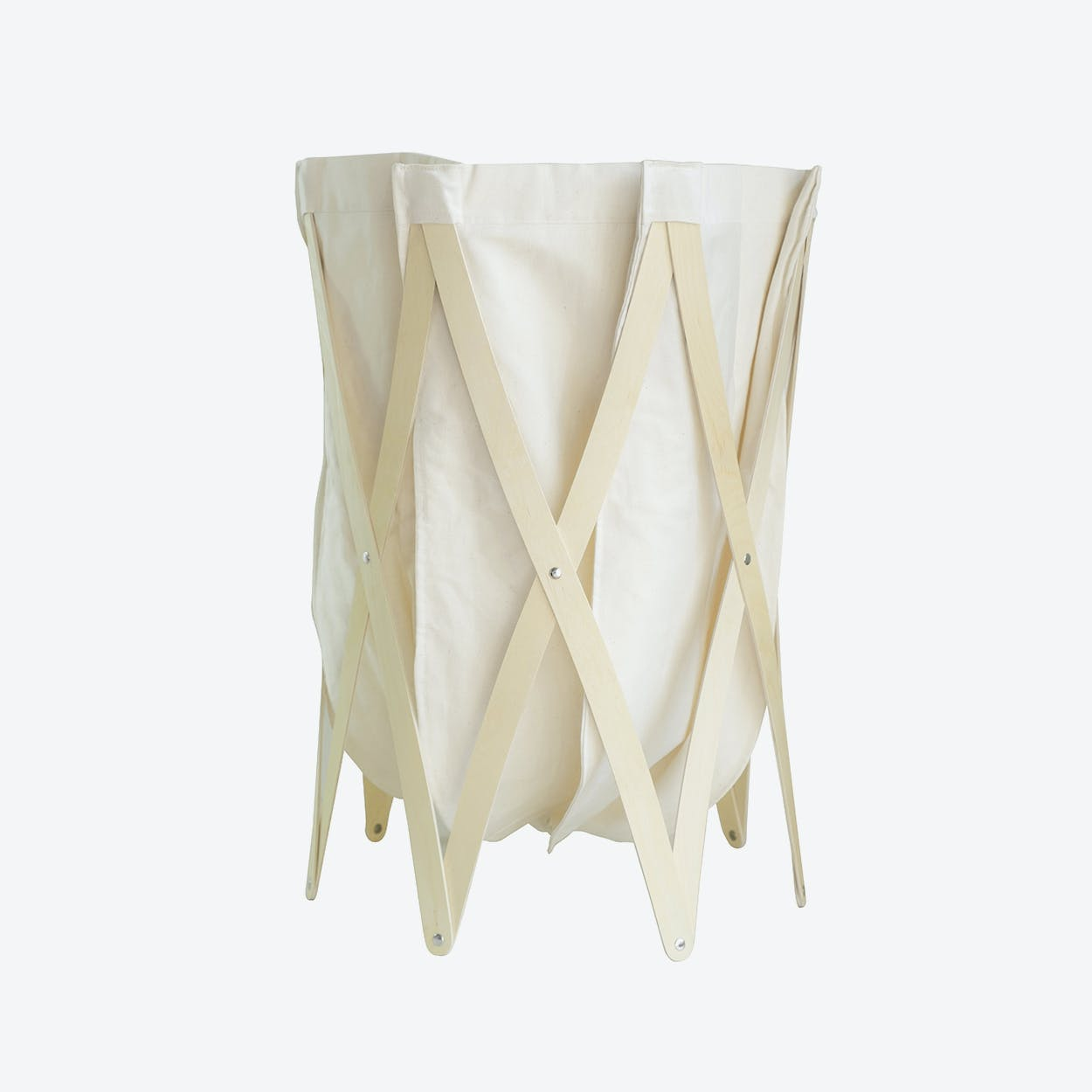 Marie Pi Laundry Basket  in Beige/Natural