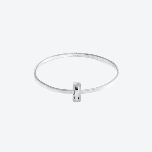 Soames Gate Midi Wayfarer Silver Bangle