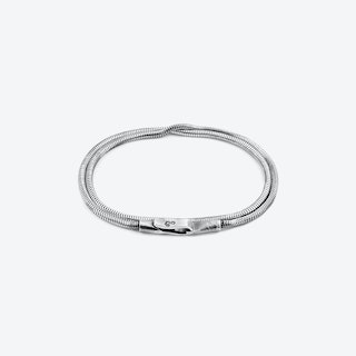 Gallant Double Sail Silver Chain Bracelet