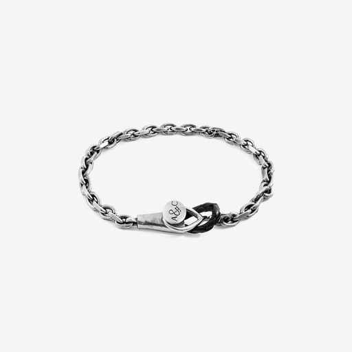 Dundee Mooring Silver Chain Bracelet