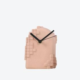 Green Pixel Desk Clock