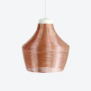 Copper Braided Pendant Lamp – Fat