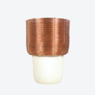 Copper Braided Table Lamp