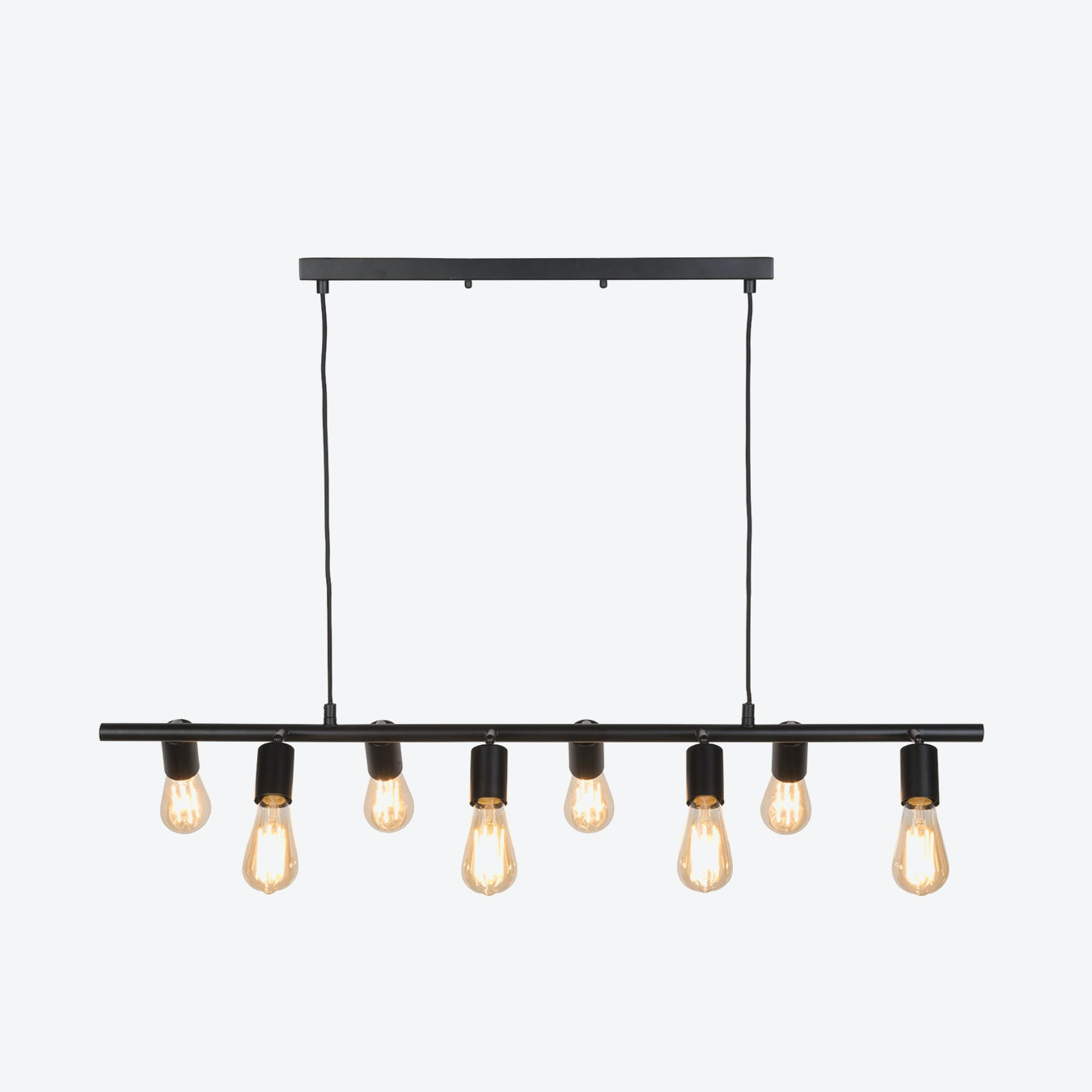 Miami 8 Arms Hanging Lamp Black By It