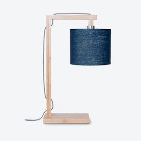 Himalaya Table Lamp - Blue Denim