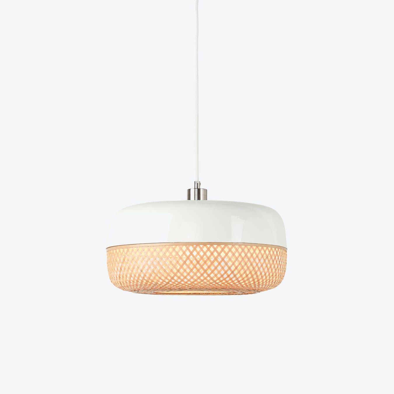 Mekong Single Pendant Lamp - Ø 40 x 22 cm