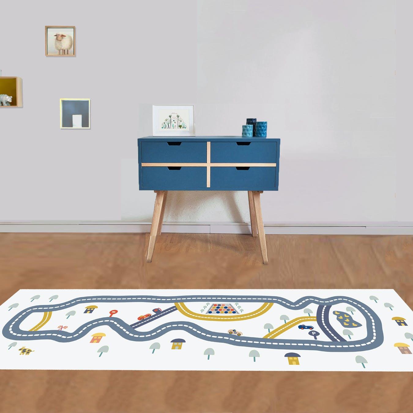 """Vinyl Playmat """"Racetrack"""" (60x200cm)"""
