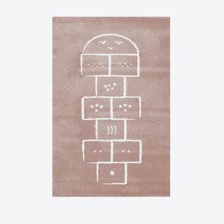 Hopscotch Rug  pink  135 x190 cm