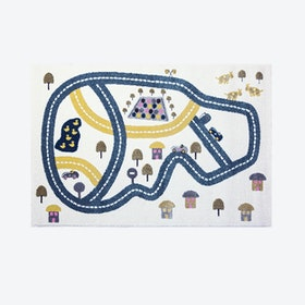 Racetrack Rug (135 x190 cm)