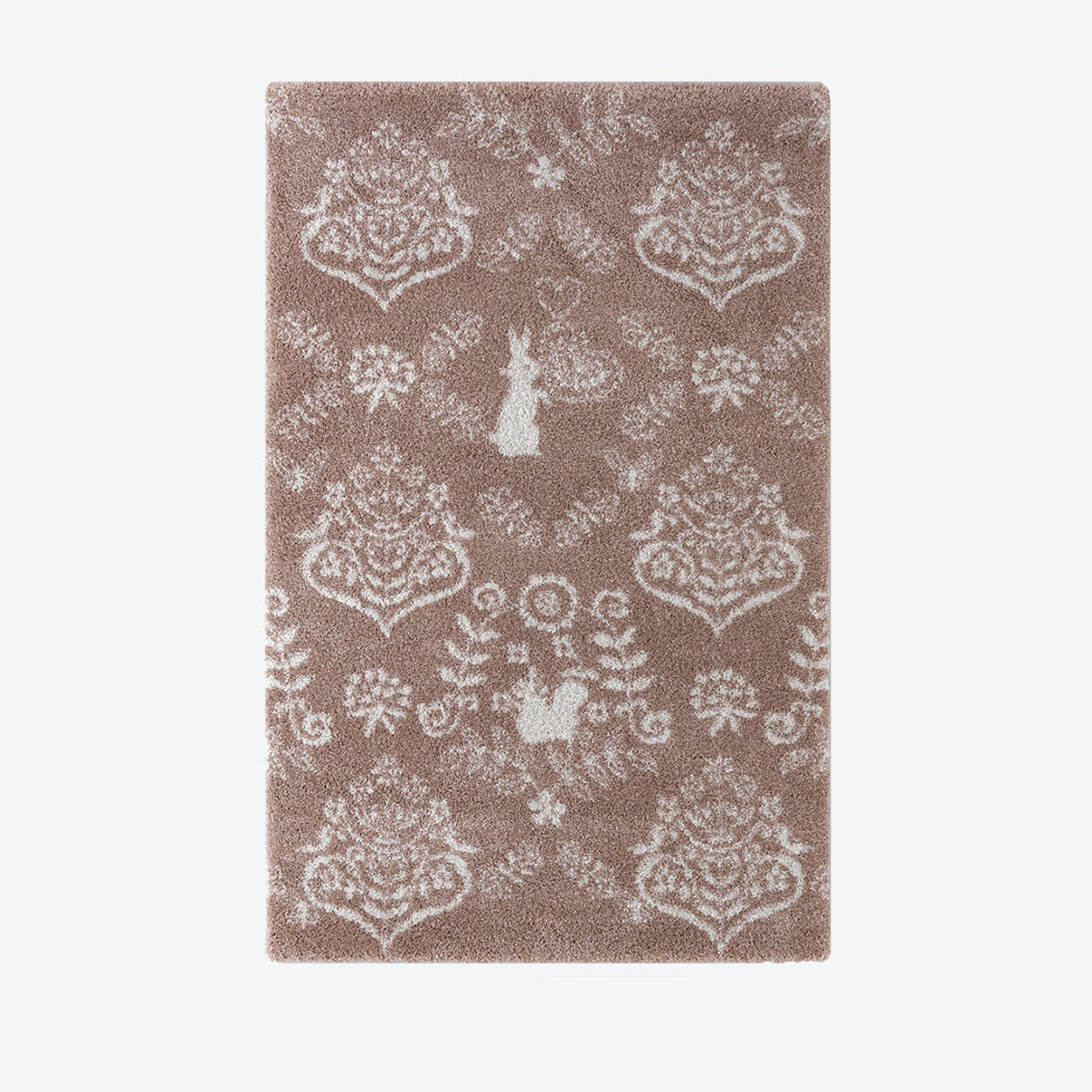 Rabbit Rug - Pink - by S. Katoh -  135 x 190 cm