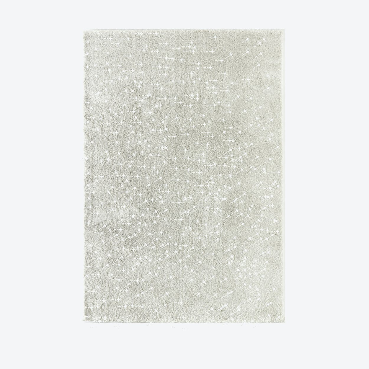 "Shiny Rug ""Sparkle"" in White (120x170 cm)"