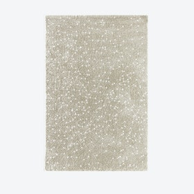 "Shiny Rug ""Sparkle"" in Beige"