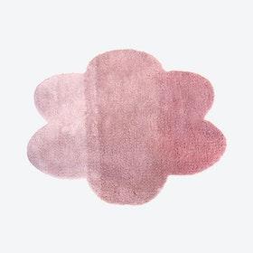 "Cloud Rug ""Gradient"" in Pink (100x130 cm)"