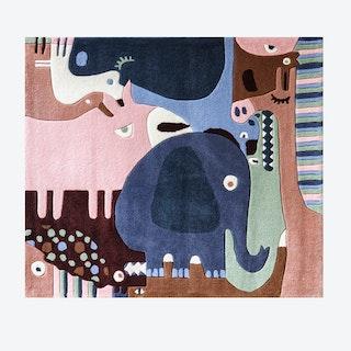 Puzzle Animals Rug
