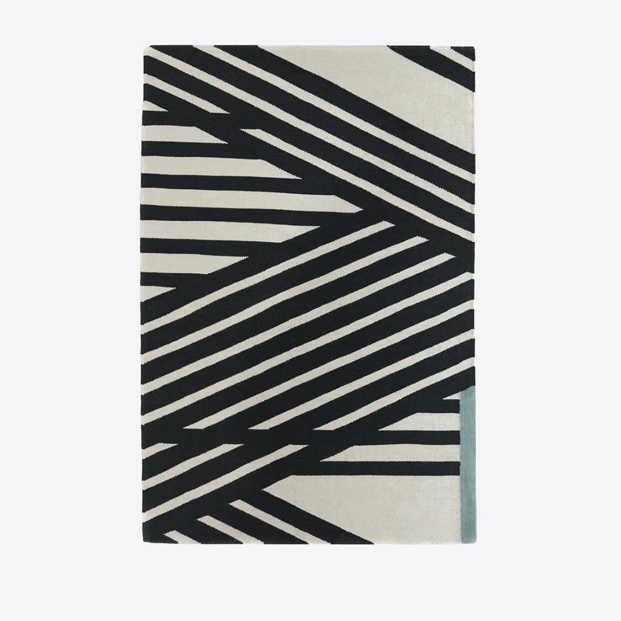 "Kilim Rug ""Stripes"""