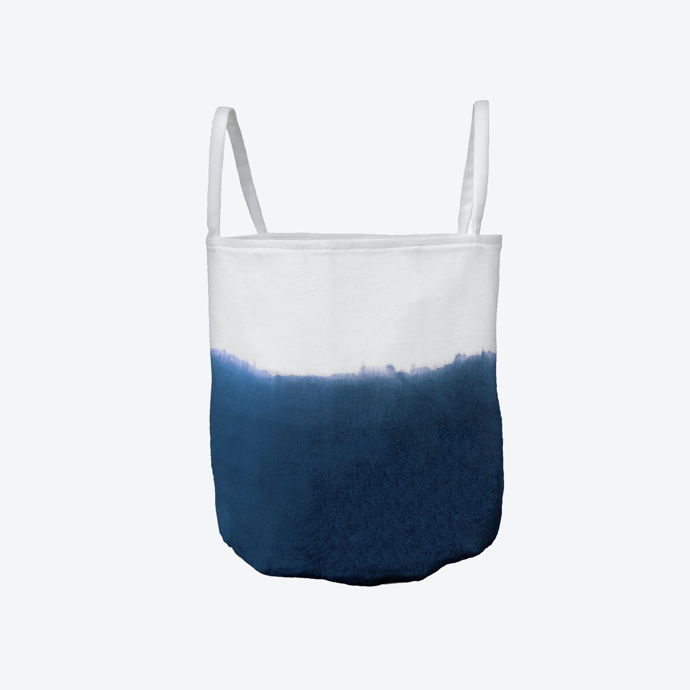 Tie Dye Basket - Blue Indigo