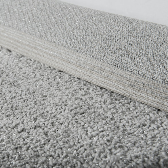 Shiny Rug Sparkle In Grey By Afkliving