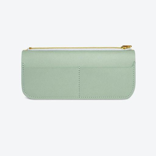 Big Wallet Fine - Soft Green