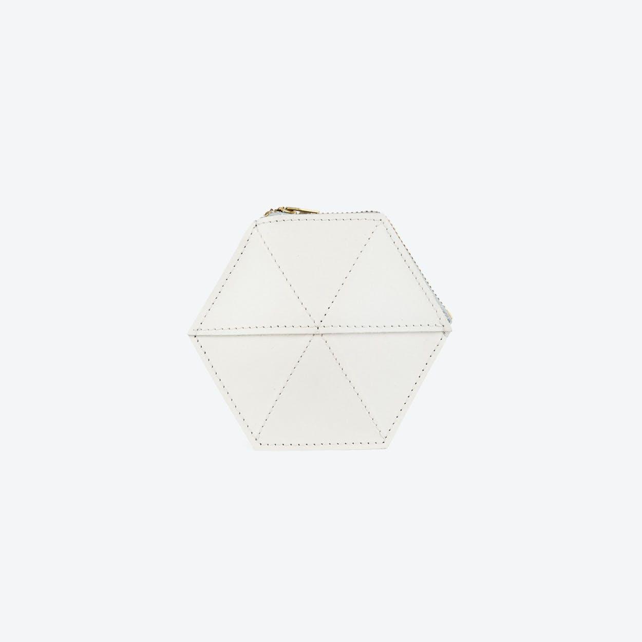 Coin Case - Off-White