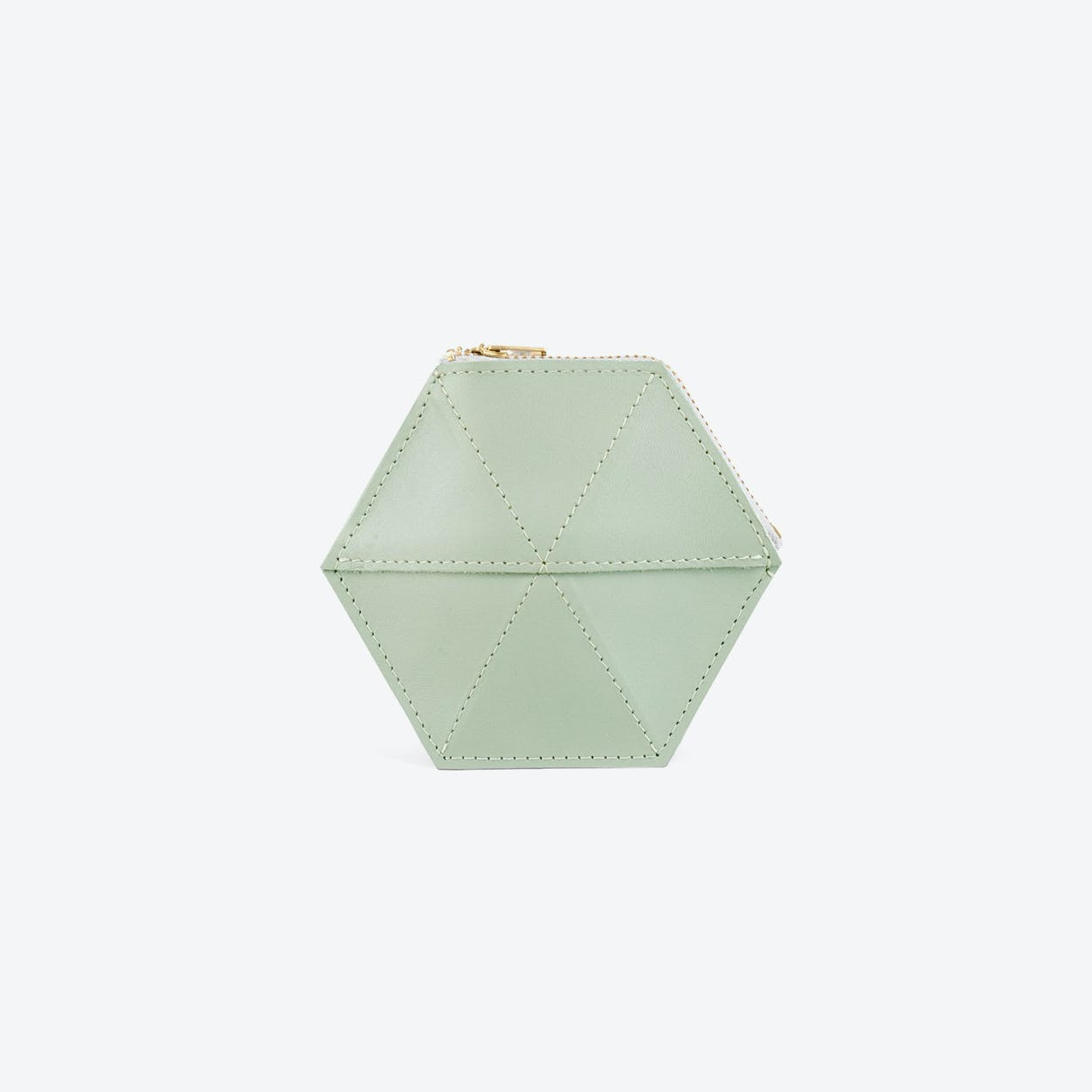 Coin Case - Soft Green
