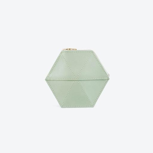 Coin Case - Soft Green
