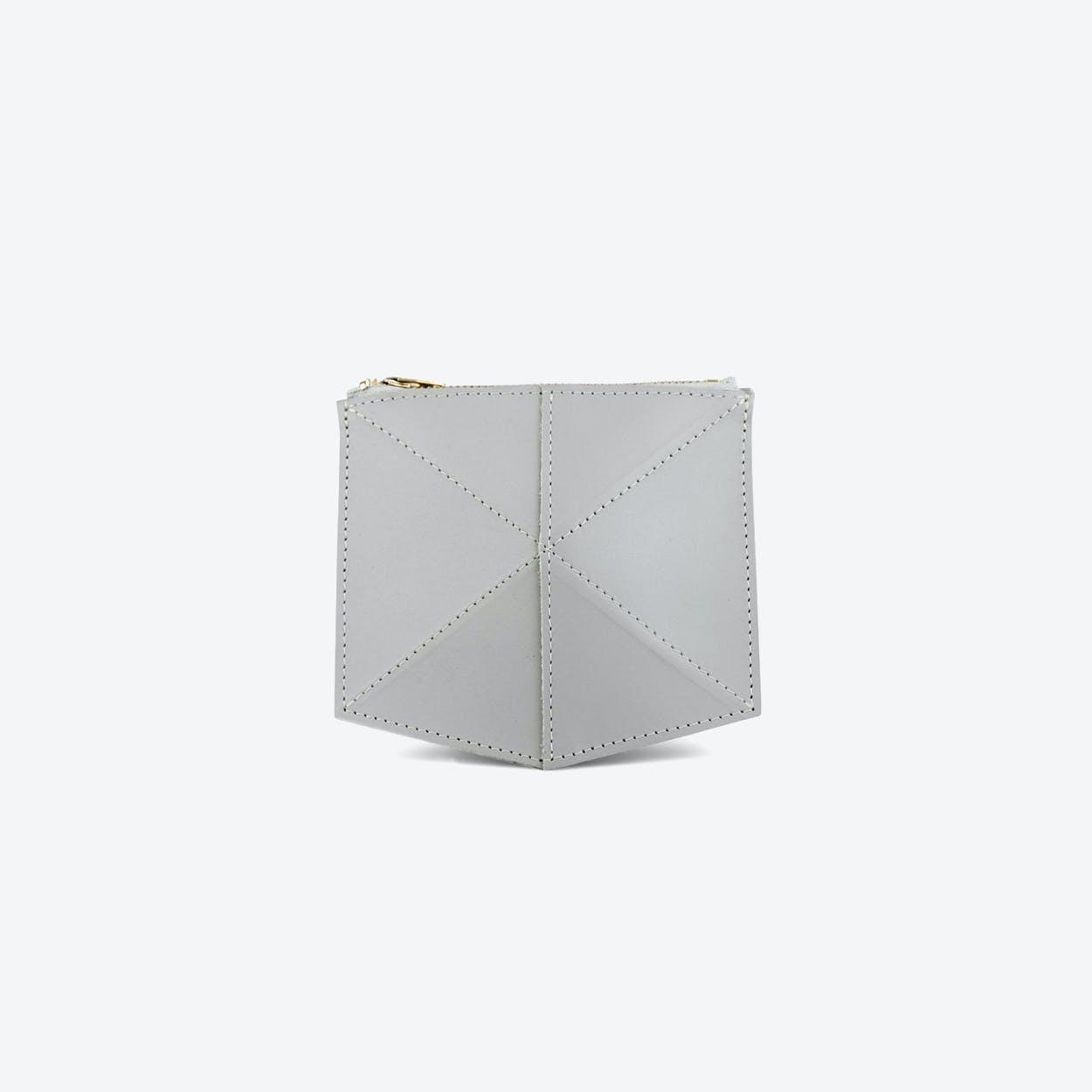 Wallet Fold - Light Grey