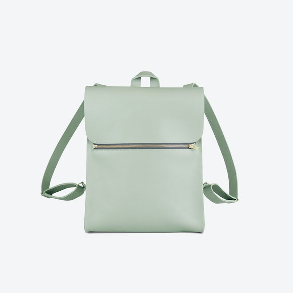 642b7352f1ee Backpack Small - Soft Green by Zand-erover - Fy