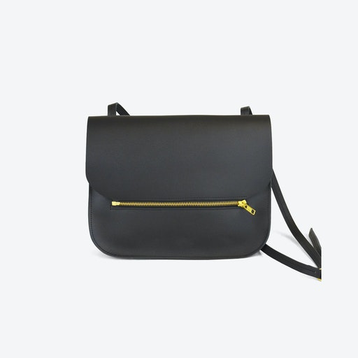 Shoulder Bag Fine - Black