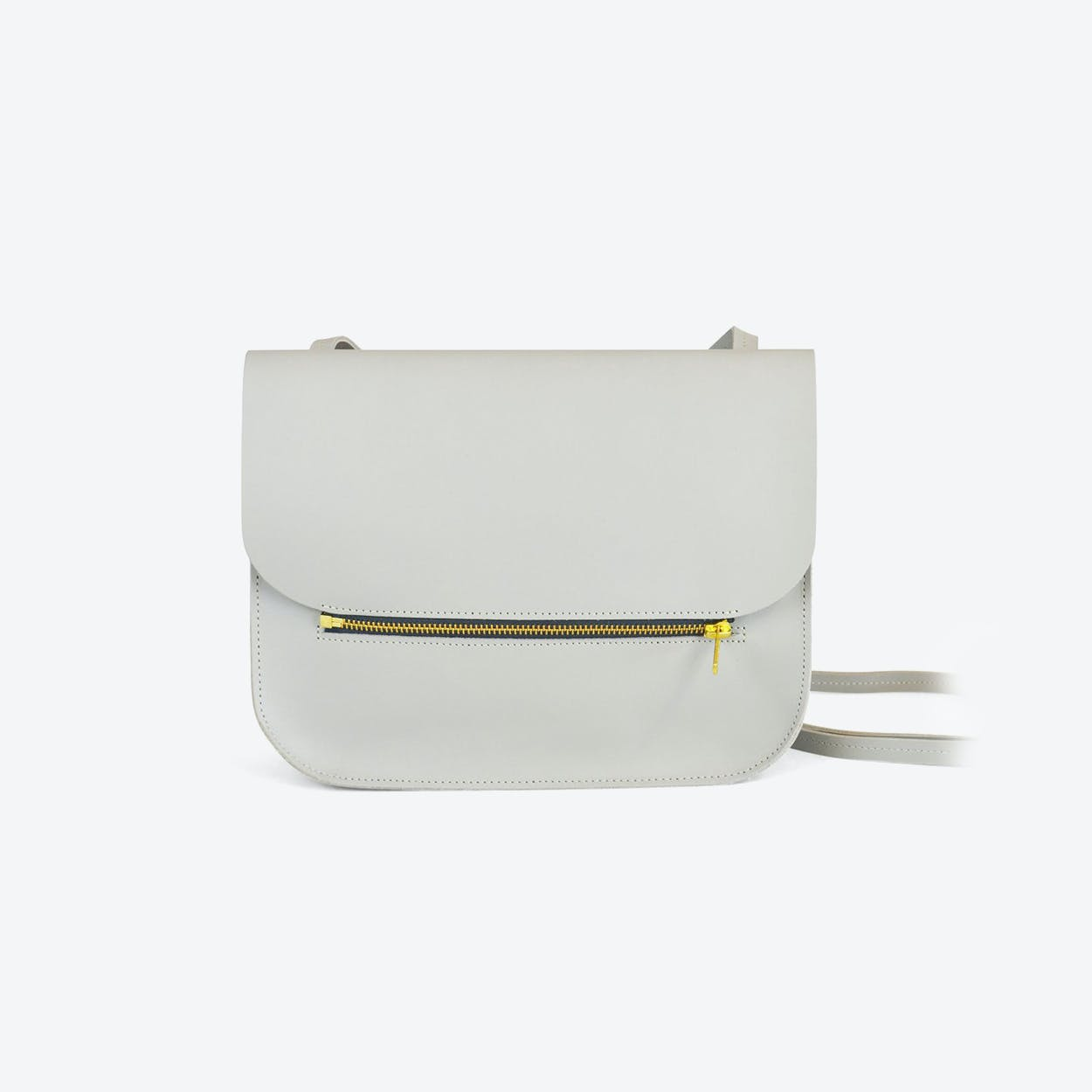Shoulder Bag Fine - Light Grey