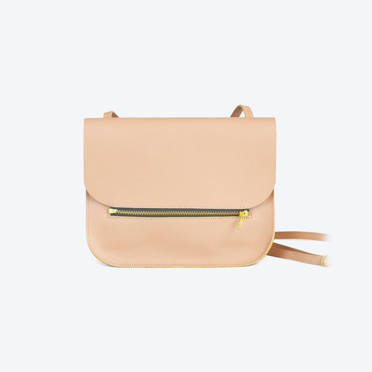 Shoulder Bag Fine - Nude