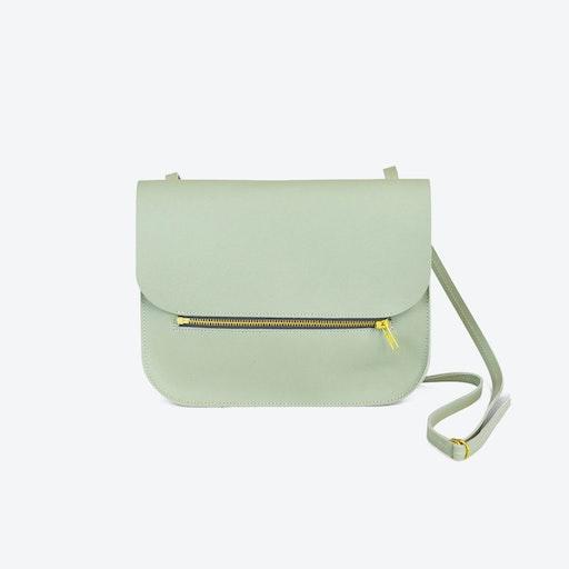Shoulder Bag Fine - Soft Green