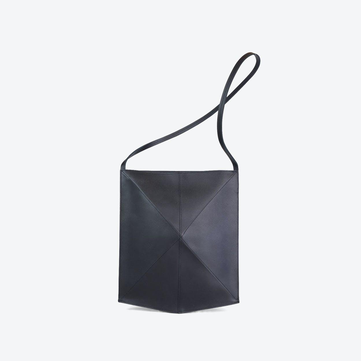 Shoulder Bag Fold - Black