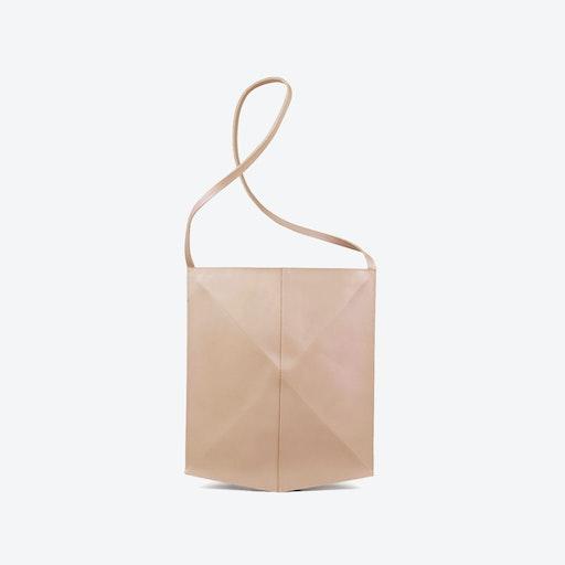 Shoulder Bag Fold - Nude