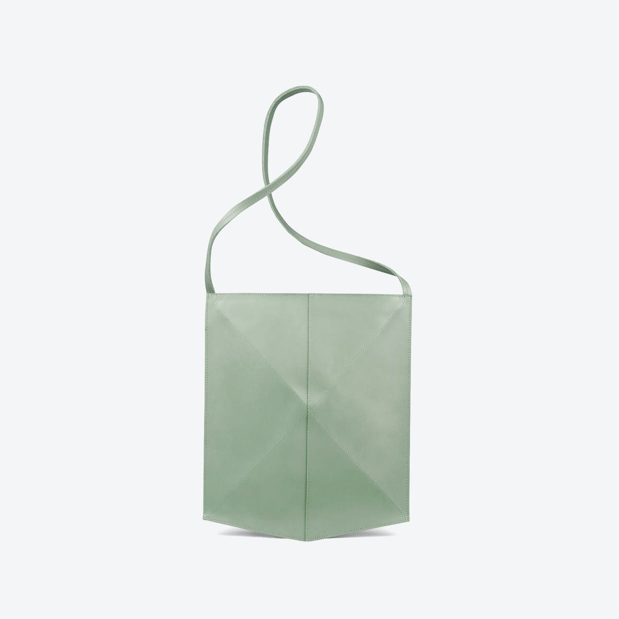 Shoulder Bag Fold - Soft Green