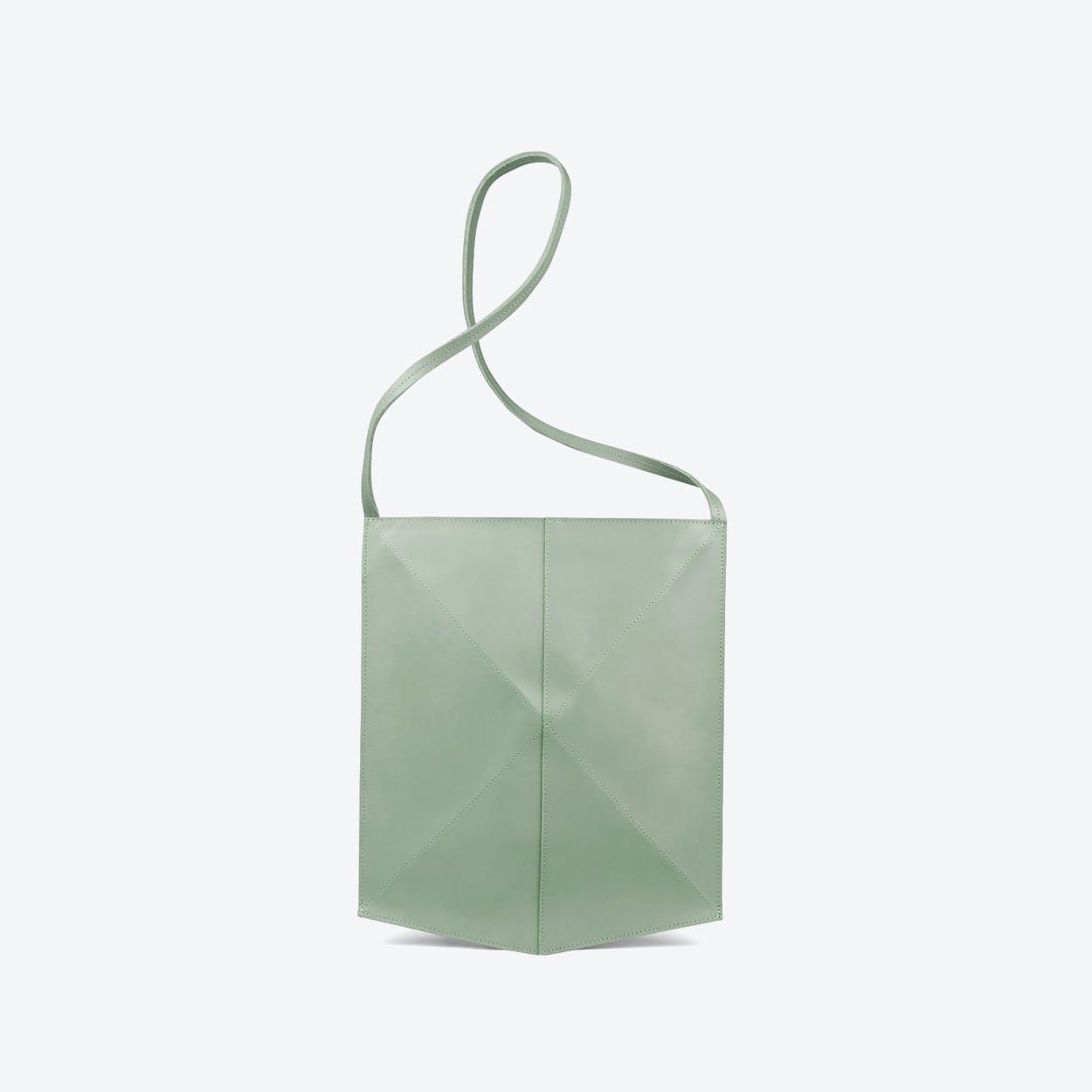 Shoulder Bag Fold - Soft Green