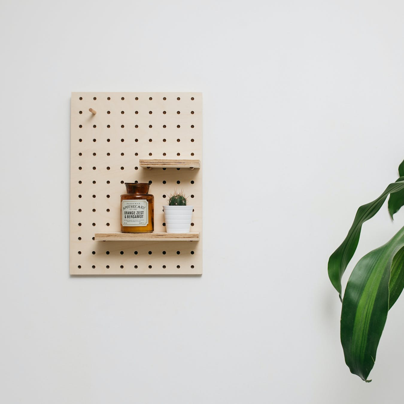 Medium Rectangle Pegboard