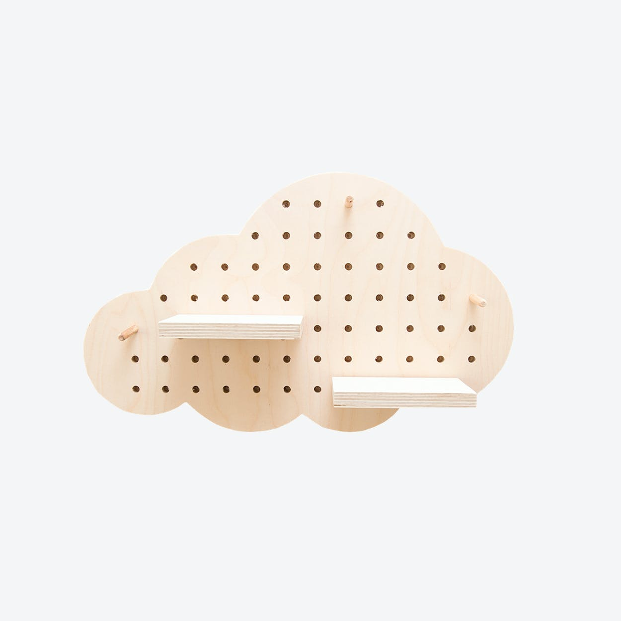 Large Cloud Pegboard
