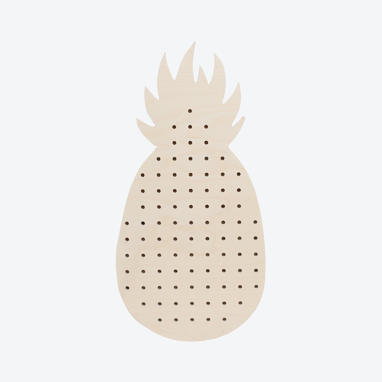 Large Pineapple Pegboard