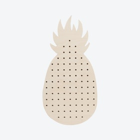 Large Pineapple Pegboard