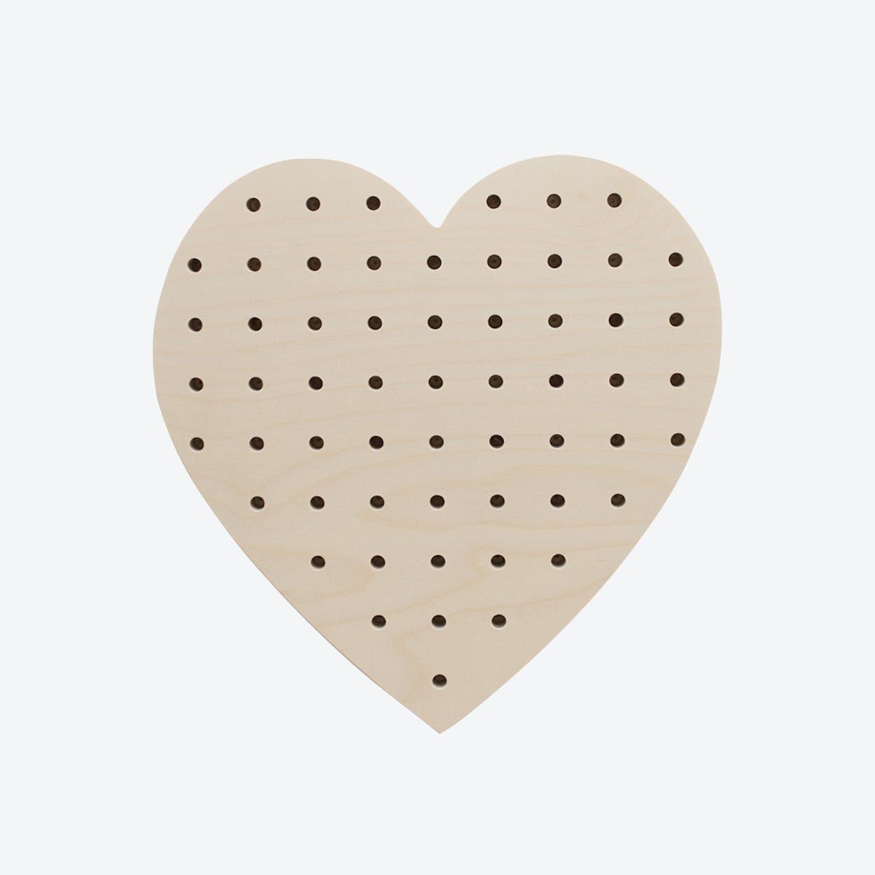 Large Heart Pegboard