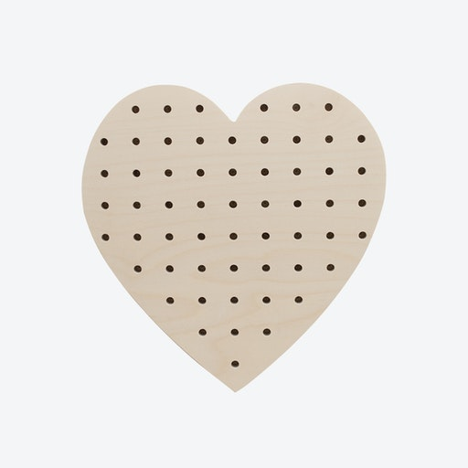 Large Heart Pegboard
