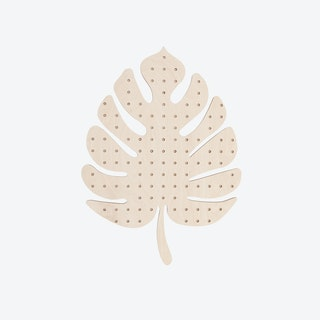 Large Monstera Pegboard